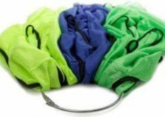 Groene SoccerConcepts Draagbeugel voor hesjes - Draagbeugel - 13,5 diameter - Afsluitbaar