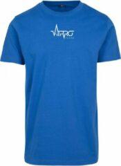 FitProWear Casual T-Shirt Heren Blauw - Maat XXL - Shirt - Sportshirt - Casual Shirt - T-Shirt Ronde Hals - T-Shirt Slim Fit - Slim Fit Shirt - T-Shirt korte mouwen