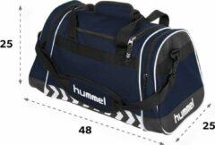 Marineblauwe Hummel Sheffield Sporttas Unisex - One Size