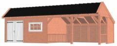Van Kooten Tuin en Buitenleven Kapschuur De Stee 980x425 cm - Combinatie 1