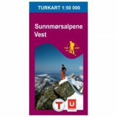 Nordeca - Wander-Outdoorkarte: Sunnmørsalpene Vest 1/50 Auflage 2015