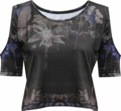 "Zwarte Yoga-Breathe-Shirt ""Raffaela"" - everglades L Loungewear shirt YOGISTAR"