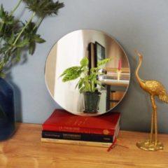 KunstSpiegel Ronde Spiegel Zonder Lijst - 30 x 30 cm - incl. Ophangsysteem