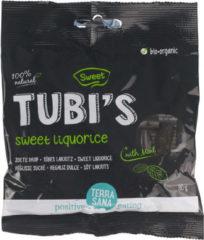 Terrasana Tubi's Mint zoete drop eko 80 Gram