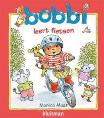Massamarkt Kluitman Bobbi leert fietsen