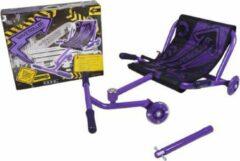 (Paars) EzyRoller-Waveroller- Skelter- ezy roller- wave roller-ligfiets-kart-buitenspeelgoed