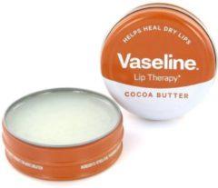 Bruine Vaseline Lip Therapy 2 Stuks Cocoa Butter