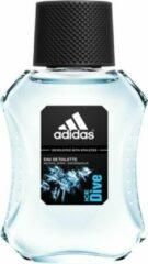 3x Adidas Ice Dive Eau de Toilette Spray 100 ml