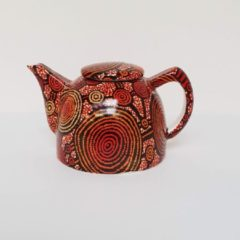 Rode Alperstein Designs Design theepot - Teddy Jakamarra Gibson - Aboriginal collectie