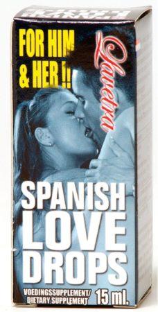 Afbeelding van Cobeco Spanish Love Drops Lavetra - 15 ml - Lustopwekkend Middel
