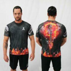 Bones Sportswear Heren T-shirt Guitar maat S