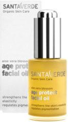 Santaverde Aloe Vera Age Protect Gezichtsolie Bio (30ml)