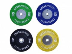 Lifemaxx Crossmaxx Competition Bumper Plate - 50 mm - 25 kg