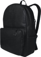 Zwarte Mozz Vintage Beautiful Backpack Luiertas black Damestas