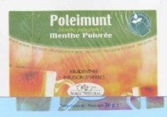 Soria Natural Soria Poleo mentha poleimunt 20 Stuks