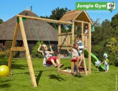 Jungle Gym | Club + 2-Swing X'tra | DeLuxe | Geel