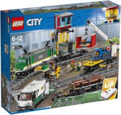 Blauwe LEGO City Treinen Vrachttrein - 60198