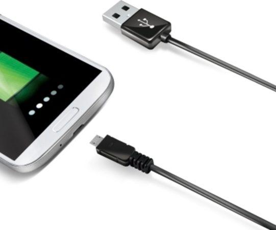 Afbeelding van Celly 2.0m USB A - Micro USB B USB-kabel 2 m Micro-USB B Zwart