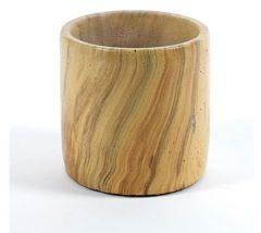 Bruine Serax Aspect Bloempot Hout - 11 cm