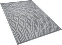 Licht-grijze Outdoor tapijt lichtgrijs 120x180 cm SIKAR
