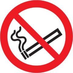 Rode Pick-Up Pictogram verboden te roken zelfklevend 300 mm