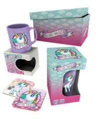 Gb Eye Cadeauset Unicorn Paars/roze 22 Cm