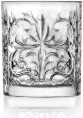 Transparante RCR Cristalleria Tattoo Whiskeyglazen - 33,7 cl - 2stks