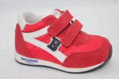 Balducci baby sneaker klittenband - rood - maat 19