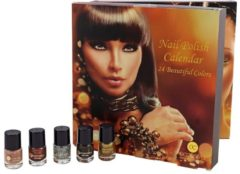 Kosmetikkalender Beautynails Accentra gold