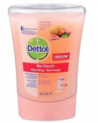 Dettol Healthy Touch No Touch Recharge Nourrissant Beurre de karit Rose 250 ml