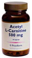 Acetyl L-carnitine 500 mg van Proviform : 60 vcaps