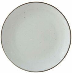 Xenos Ontbijtbord Emma - 21 cm - wit