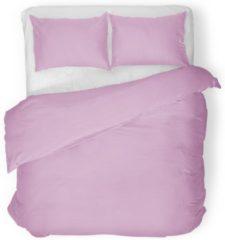 Roze Trendzzz ® Dekbedovertrek Old Pink Uni Hotel Collection 100% katoen 140x220cm