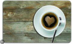 Remember Broodplankje - 23,5 x 14,3 cm - Coffee Heart
