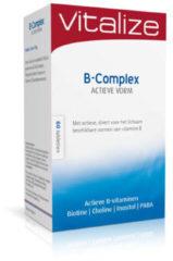 Vitals Vitalize B-Complex Actieve vorm 60 tabletten
