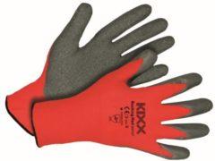 Rode Kixx Handschoenen Kixx Tuinhandschoenen - Rocking Red - Maat 8