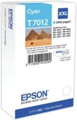Blauwe Epson T7012XXL - Inktcartridge / Cyaan / Extra Hoge Capaciteit