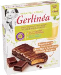 Gerlinea Snackrepen Chocolade & Hazelnoot Smaak (8x20g)