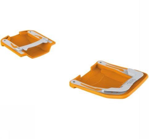 Afbeelding van Petzl - Paar Antisnow Irvis Vorne + Hinten oranje