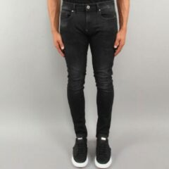 G-star Jeans Revend Skinny Medium Aged Faded Antraciet Grijs(51010-A634-A592)