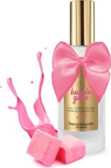 Transparante Bijoux Indiscrets - Bubblegum 2 in 1 Scented Silicone Massage and Intimate