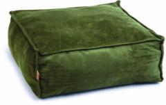 Designed by Lotte Velveti Ligkussen - Kat - Fluweel - Groen - 50x50x20 cm