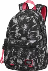 Zwarte American Tourister Urban Groove Lifestyle Backpack 6 flowers black backpack