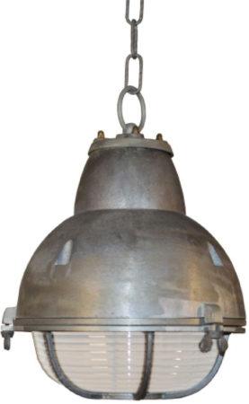 Afbeelding van Zilveren KS Verlichting K.S. Verlichting Navigator Hanglamp Ø 25 cm - Aluminium kleur
