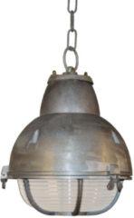 Zilveren KS Verlichting K.S. Verlichting Navigator Hanglamp Ø 25 cm - Aluminium kleur