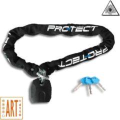 Pro-Tect Quartz ART4 Kettingslot | Premium Kwaliteit | 10,5mm x 150cm | Gehard staal | 5666g | Zwart | Brommerslot Scooterslot Motorslot