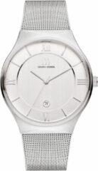 Zilveren Danish Design watches edelstalen herenhorloge Kalsoy Silver Large IQ62Q1240