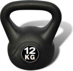 Zwarte Merkloos / Sans marque Kettlebell 12 kg