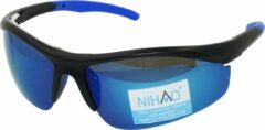 Blauwe Nihao Erhai Sportbril 1.1mm Polarized. TR-90 Ultra-Light frame Anti-Reflect coating.