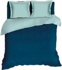 Blauwgroene Warme Flanel Eenpersoons Dekbedovertrek Uni Teal/Groen| 140x200/220 | Hoogwaardig En Zacht | Ideaal Tegen De Kou